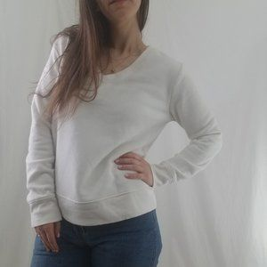 A New Day Soft White Pullover